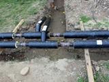 Príprava teplovodných potrubí