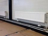 Montáž radiátorov - napojenie plastohliníkom