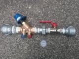 Regulácia teplej vody na stúpačke