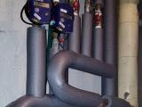 Zaizolovanie lýr kúrenia + montáž meračov tepla