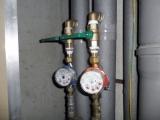 Montáž vodomerov + guľových ventilov